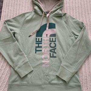 The North Face Green Sweatshirt Hoodie Sz M